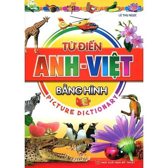 Sách - Từ điển Anh - Việt bằng hình