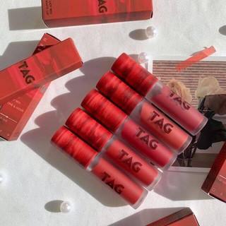 [ĐỦ BILL] Son Kem Lì Lâu Trôi Too Cool For School Lazy Red Matte Lips 2020