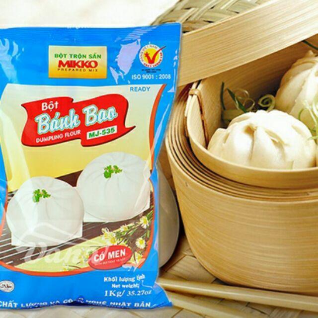 Bột bánh bao Mikko 1kg - 2692531 , 52932292 , 322_52932292 , 35000 , Bot-banh-bao-Mikko-1kg-322_52932292 , shopee.vn , Bột bánh bao Mikko 1kg