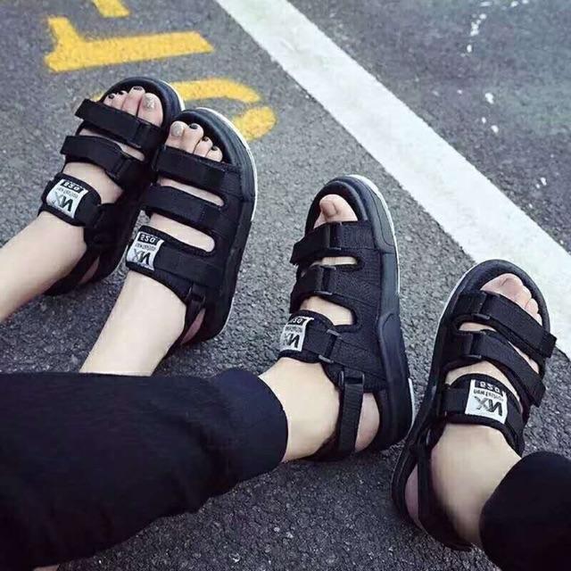 Dép sandal quai hậu nam nữ
