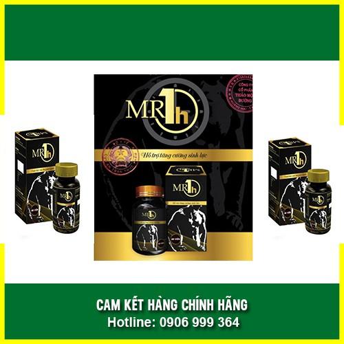✅Chính Hãng - [COMBO 2 HỘP] - Mr 1H - Tăng Cường Sinh Lý Nam (Hộp 60 viên)