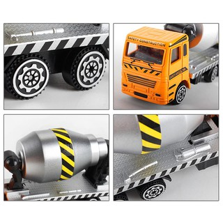Simulation Cement Trucks Car Model Collection Toys Childrens Present
