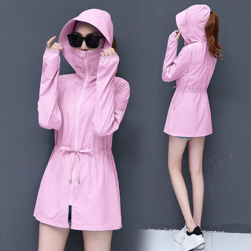 Áo chống nắng nữ thông hơi siêu Hot Lend Sead Đạt Chuẩn Chỉ Số Chống Nắng UPF45+ cản 90% tia UV