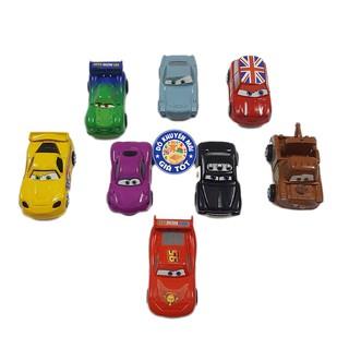 Bộ 8 xe đồ chơi chạy trớn bằng nhựa (CAR)