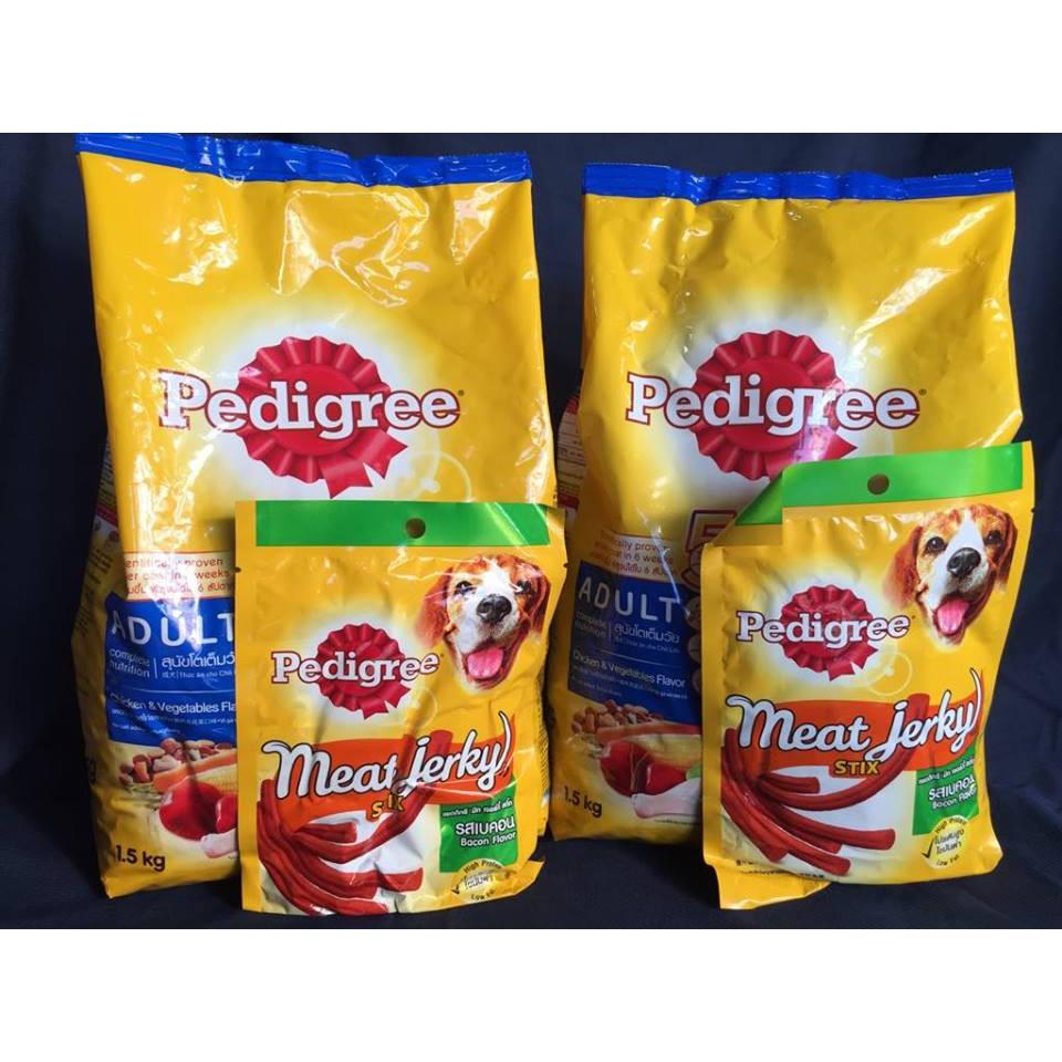 Combo 2 túi Pedigree 1,5kg vị gà ( Cho chó trên 1 năm tuổi)