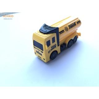 Đồ chơi xe ô tô Truck xinh xắn màu vàng có bánh đà cho bé giá rẻ siêu ưu đãi 5