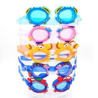 Kính bơi trẻ em silicon chống nước cao cấp cho bé 3-10 tuổi họa tiết hình thú ngộ nghĩnh đáng yêu BBShine – KB005