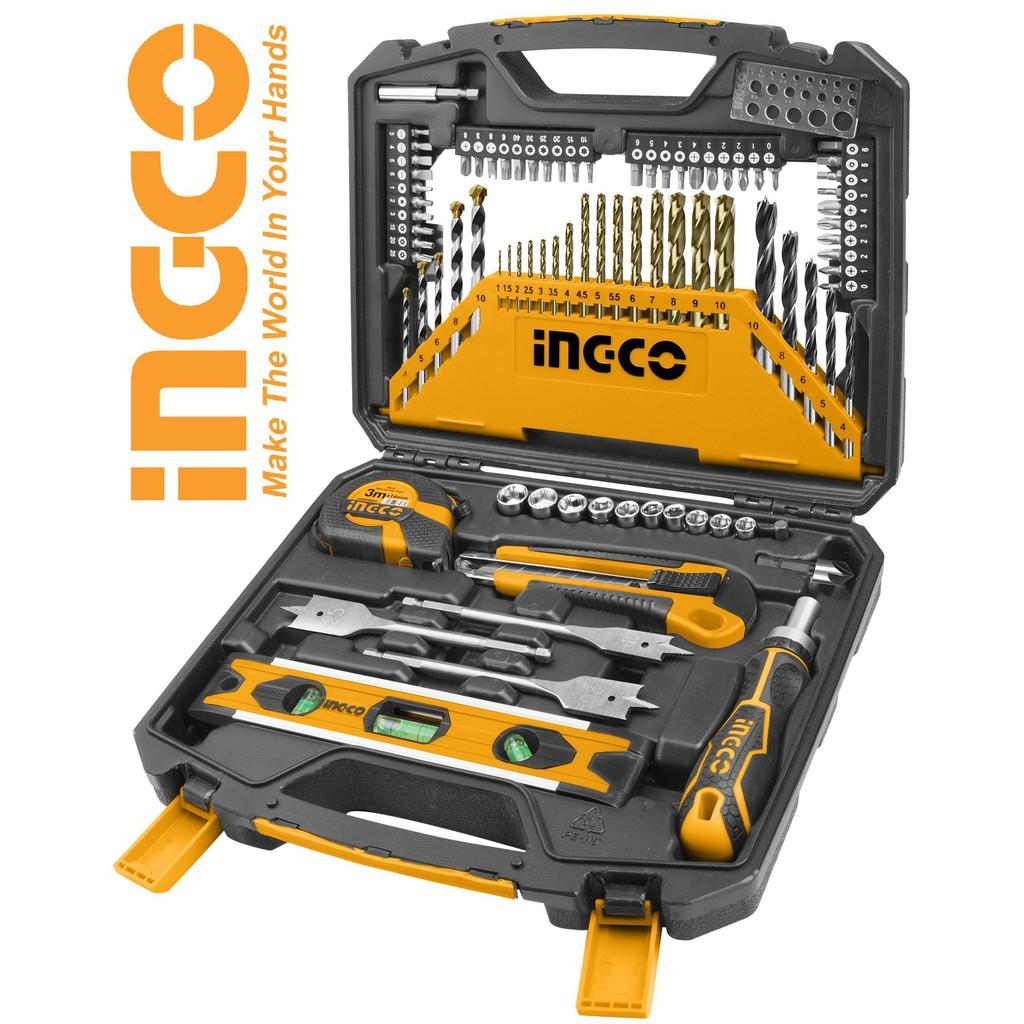 INGCO Bộ 86 dụng cụ đồ nghề mũi khoan đa năng HKTAC010861