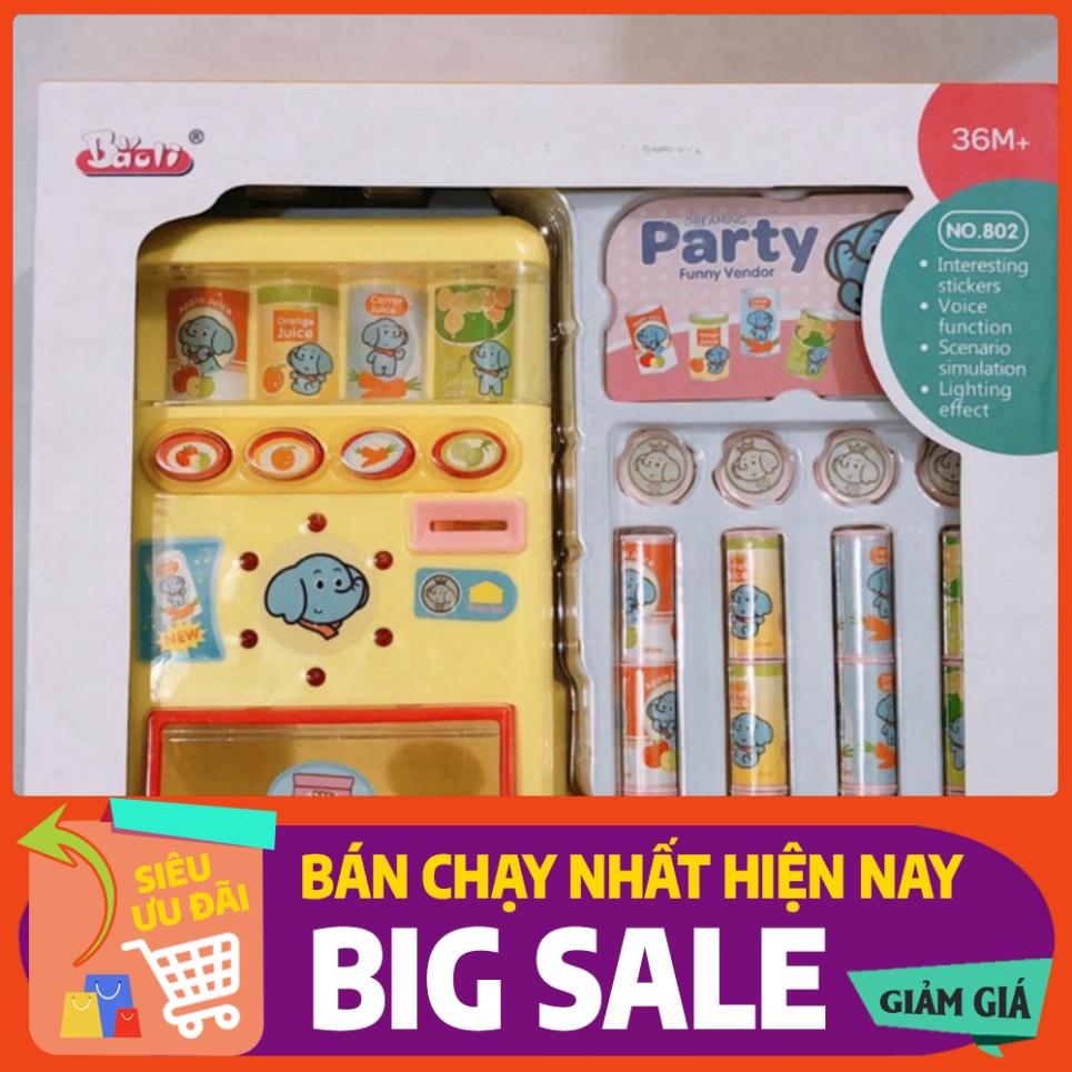 [FREE SHIP] Freeship50k_Hộp đồ chơi MÁY BÁN NƯỚC TỰ ĐỘNG loại xịn cho bé