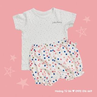 Bộ cộc áo sao - quần chấm bi Chaang thumbnail