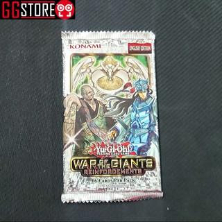 Thẻ Bài Yugioh Chính Hãng : Gói 16 Thẻ Bài War of Giants
