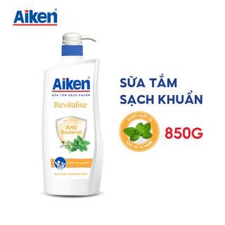 [Mã AIKE20149 giảm 20K đơn 149K] Aiken Sữa tắm Sạch khuẩn Chiết Xuất Bạc Hà 850g thumbnail