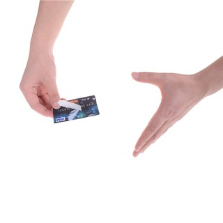 HEL❤ ettes Floating suspend Credit Card Magic Tricks Close Up Stage Props