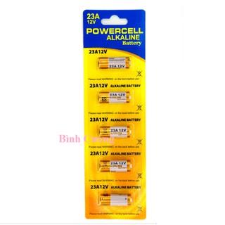 Vỉ 5 Pin Alkaline 12V 23A