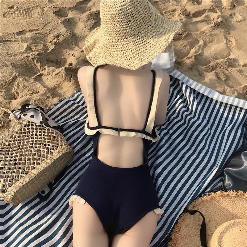 SẴN  Bikini một mảnh liền Hàn quốc 0008