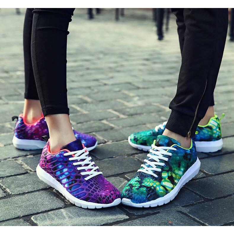 Giày NAM/Nữ,[ Giầy Đẹp Kiểu Hàn ], Giày Thể Thao NAM/Nữ Đẹp, Giày Sneaker  Kiểu Độc, Giày Nữ Đế Cao, Giày Nữ Tím | Shopee Việt Nam