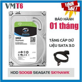 Ổ cứng camera giám sát HDD Seagate Skyhawk 500GB - bảo hành 01 tháng!