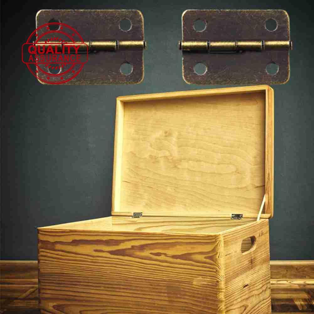 Set 10 ốc vít đồng xanh lá 24*18Mm 1 Inch cho hộp quà phía sau 180° A8L8