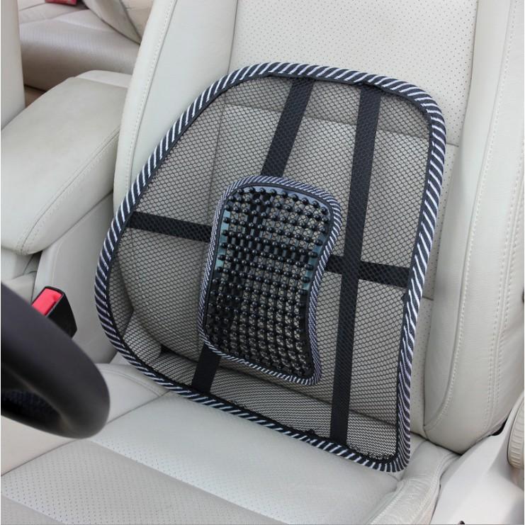 Tấm dựa lưng ghế ô tô - ghế văn phòng chống mỏi lưng- PHÁT LỘC AUTO
