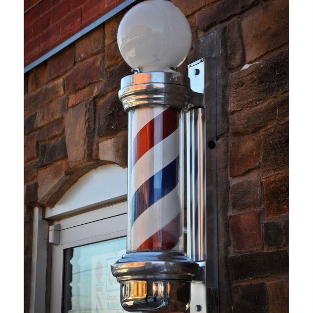 Đèn Barber pole cao cấp
