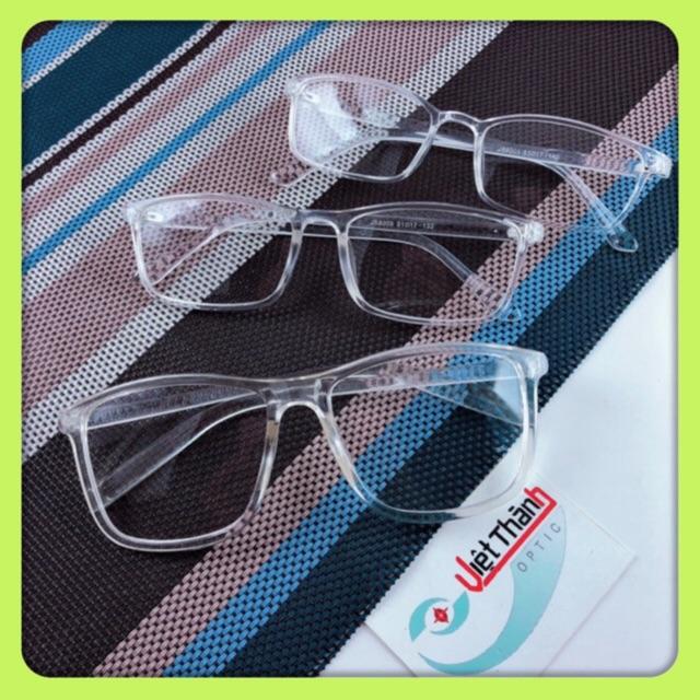 [Mã FARSSTGRE giảm 5K đơn bất kỳ] Sỉ kính trong suốt 3 size kính teen trong suốt