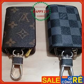 XẢ ví nam mini có móc khóa để khóa oto bóp nam mini nhỏ ngọn bỏ túi LV đẹp sang chảnh thumbnail