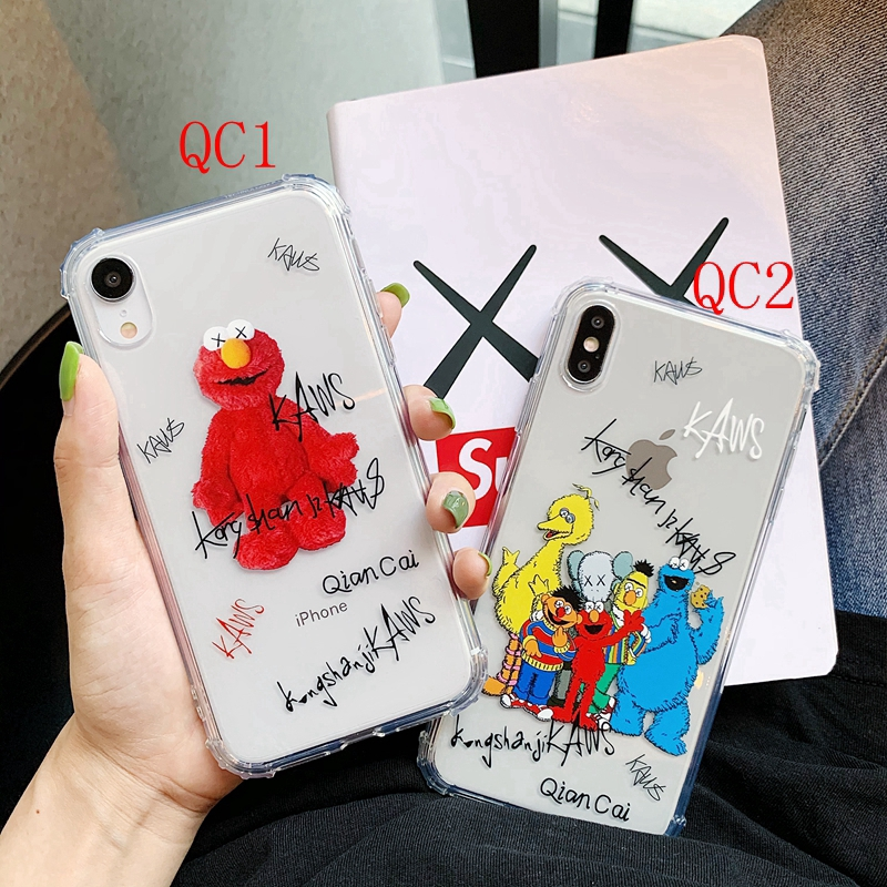 Creative Cartoon case for IPhone 6s 6splus 7 8plus IPhone X XR Xmax soft Protective Cover