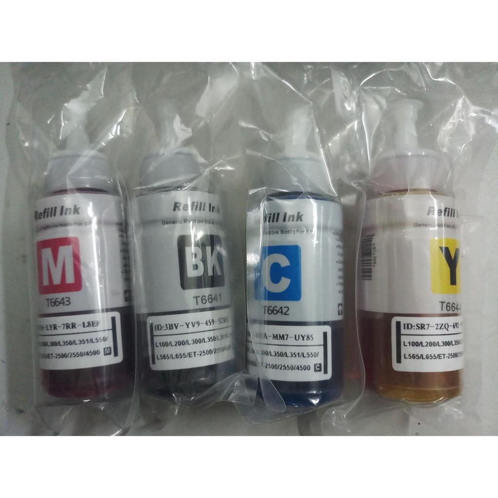 Mực bóc máy chính hãng cho máy in Epson L100/110/210/300/310/350/360-seris Giá chỉ 170.000₫