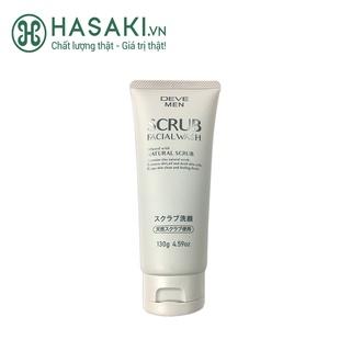 Sữa Rửa Mặt Kumano Deve Dạng Hạt Tẩy Da Chết Cho Nam Scrub Facial Wash 130g thumbnail