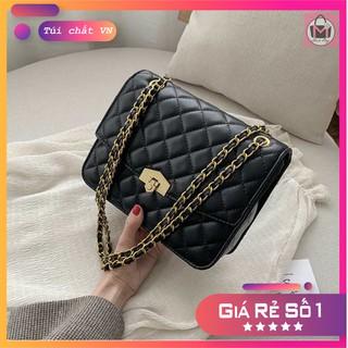 Túi đeo chéo da chần quả trám size 26 phong cách Hàn Quốc sành điệu giá rẻ size 26 TXK08