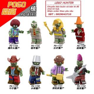 Lego Minifigures Plant vs Zombie PG 8197
