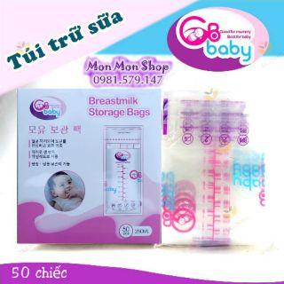 Túi trữ sữa mẹ GB Baby Hàn Quốc 250ml thumbnail