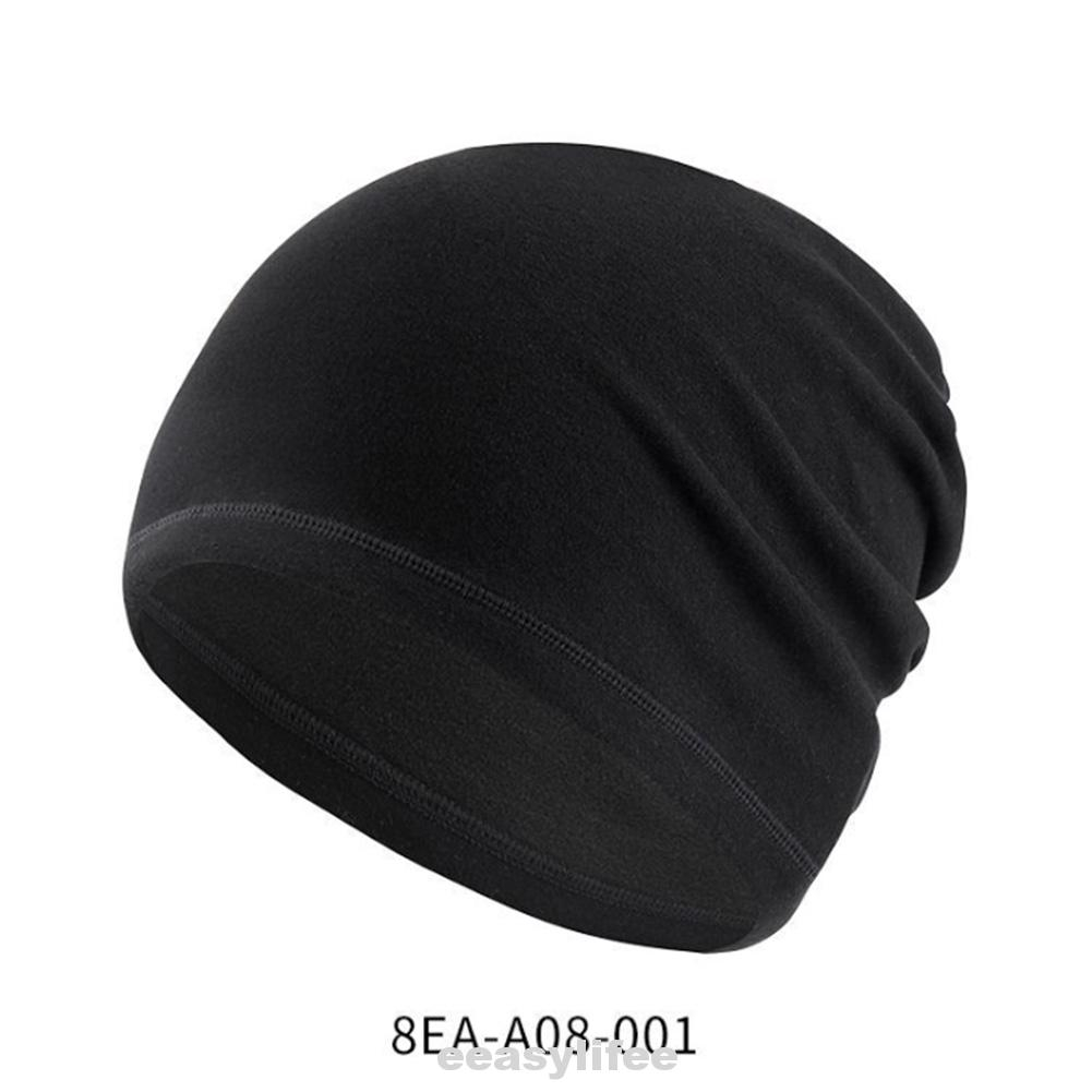 Unisex Thermal Artificial Wool Outdoor Hiking Casual Cycling Windproof Winter Beanie