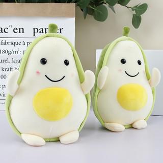 Gấu bông gối ôm quả bơ trứng 034 siêu cute thumbnail