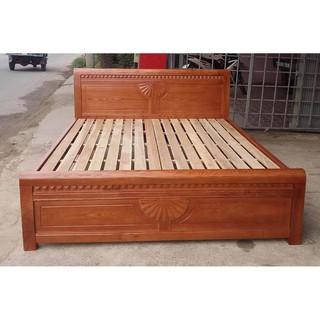Giường Ngủ Gỗ Sồi Nga Gía Rẻ nội thất Tân Ngọc Châu
