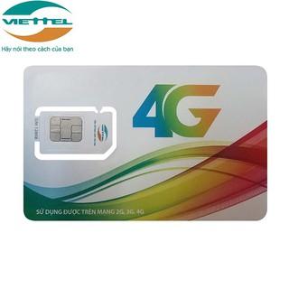 SIM 4G VIETTEL D500 D500U D900 trọn gói 1 năm không nạp tiền,dùng cho điện thoại di động, máy tính bảng, phát wifi, dcom