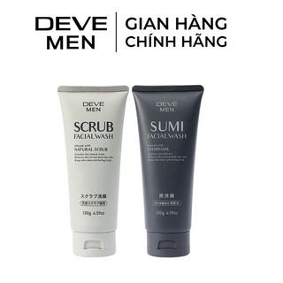 Sửa Rửa Mặt Nam Deve Sạch Sâu Cool, Ngừa Mụn Đầu Đen 130g thumbnail