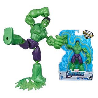 Đồ chơi nhân vật Hulk Avengers Bend N Flex E7871 thumbnail