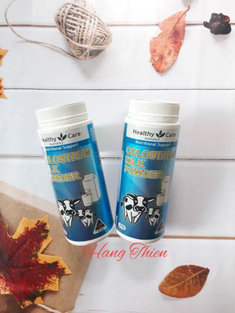 (Đủ bill) Sữa Bò Non Colostrum Milk Powder Healthy Care 300g