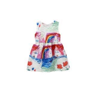 ☞❀❤♕GOAToddler Baby Girls Outfits Sleeveless Flower Dress One Piece Skirt Set for Kids Girls