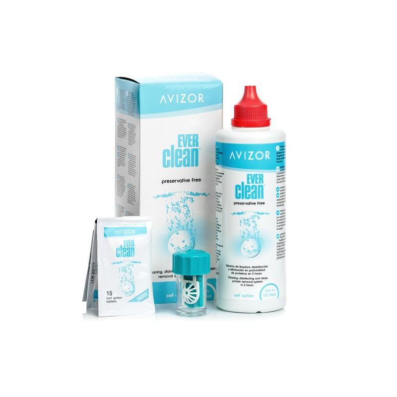 Dung dịch diệt khuẩn và khử trùng cho kính áp tròng Avizor Ever Clean