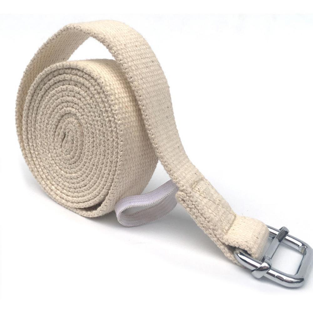 Yoga Stretch Strap D-Ring Belt Waist Leg Resistance Exercise Band