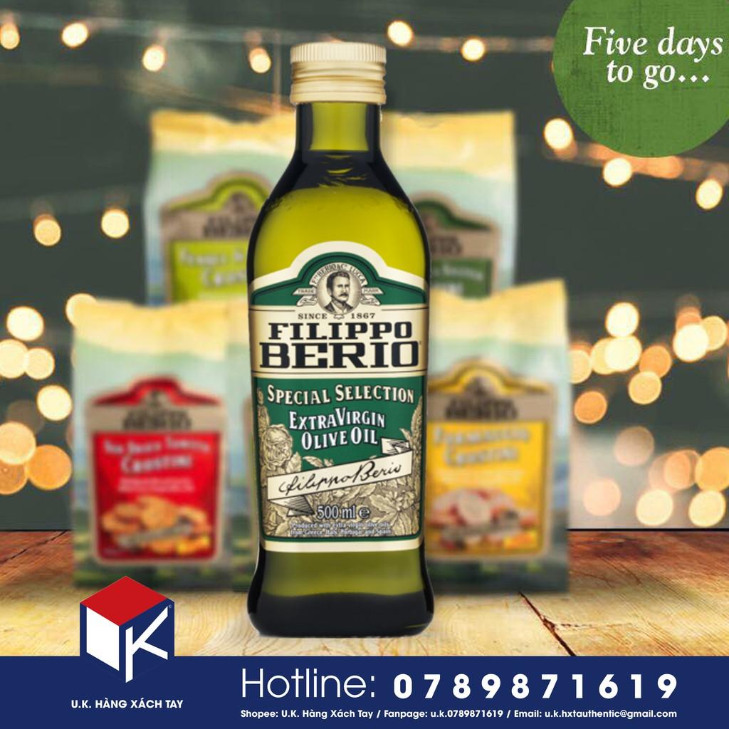 Olive Oil Extra Virgin 500ml dành cho cả gia đình Hàng xách tay UK