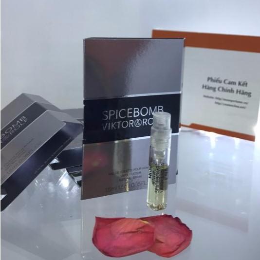 Nước hoa Vial Spicebomb Viktor & Rolf for men 1.5ml edt như hình