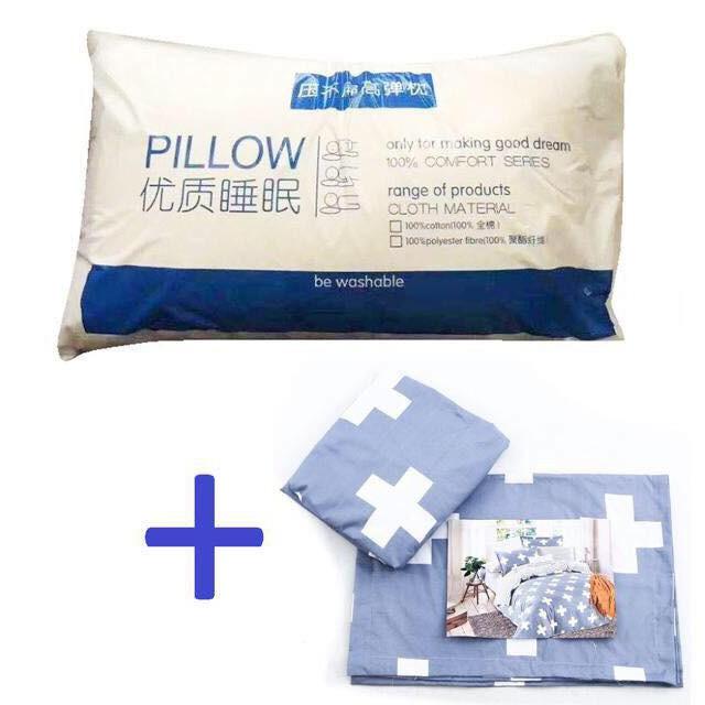 Bộ 2 Ruột gối cao cấp Hilton - Pillow tiêu chuẩn 5* tặng 2 vỏ gối bất kỳ - 3350929 , 709474281 , 322_709474281 , 250000 , Bo-2-Ruot-goi-cao-cap-Hilton-Pillow-tieu-chuan-5-tang-2-vo-goi-bat-ky-322_709474281 , shopee.vn , Bộ 2 Ruột gối cao cấp Hilton - Pillow tiêu chuẩn 5* tặng 2 vỏ gối bất kỳ