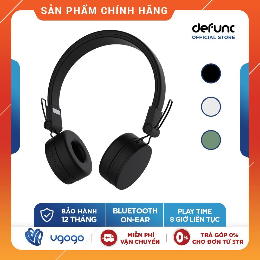 Tai Nghe Bluetooth Chụp Tai Chống Ồn DeFunc HEADPHONE GO D113 Tích Hợp Mic - Pin 8 Tiếng - Hàng Chính Hãng