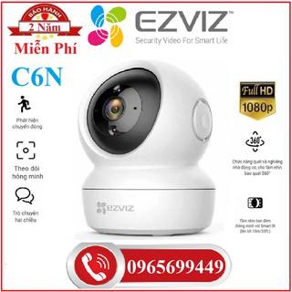 Camera Wifi EZVIZ C6N 2M 1080P ,Ezviz TY2 2Mp 1080p, Ezviz C6W 4Mp Siêu Nét 2K, Ezviz C2C 720P-Chính Hãng thumbnail