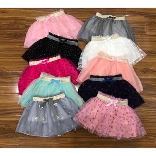 Chân váy ren voan HM hàng thiết kế từ vải xuất dư