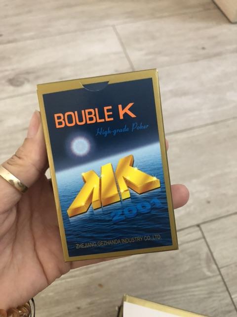 Bài Tây Double K trần siêu rẻ( bị tróc vỏ kính do vận chuyển)