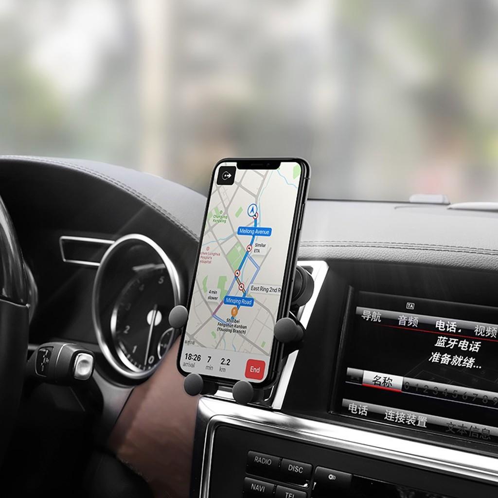 Giá Đỡ HOCO CA51 Thông Minh Trên Xe Hơi Dành cho điện thoại iPhone iP Xiaomi Huawei Samsung Oppo Realme